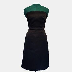 Laundry Black Strapless Dress LBD 2 petite